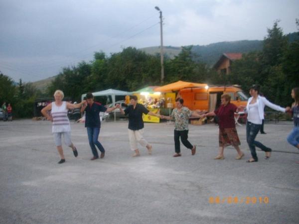 На хорото, Боснек събора 07.08.2010